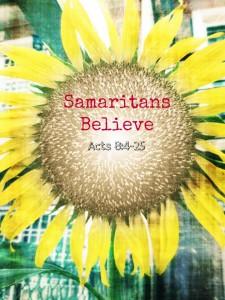samaritans believe